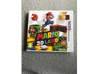 Super Mario 3D land 3DS game