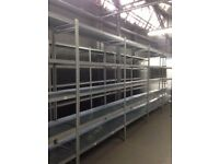 GALVENISED SUPERSHELF INDUSTRIAL SHELVING 2 METERS HIGH ( PALLET RACKING , STORAGE)