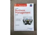 SQA higher business management revision guide