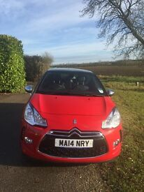 Citroen DS3 Sport Airdream, Excellent condition, low milage, 1 lady owner