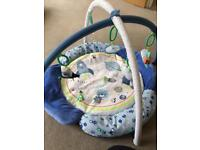 Mothercare space dreamer playmat & arch (blue)