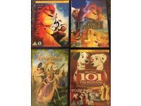 Disney dvds £5 each