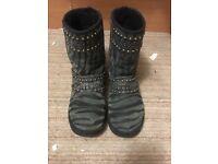 Jimmy choo ugg boots 3.5