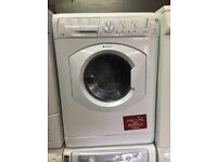 White hotpoint washing machine/dryer combo 7kg 1400 spin