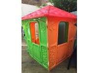 Children's chad valley outdoor playhouse