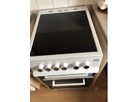 Cooker ceramic hob