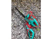 Hedge trimmer and garden strimmer