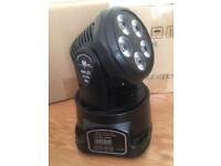Compact Powerful 70W LED Moving Head Stage Band DJ Studio Lighting Wash flood Light