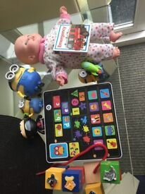 Bag of kids toys