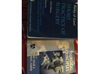 Surgical nursing books