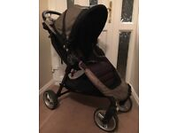 Baby Jogger City mini 4 with raincover