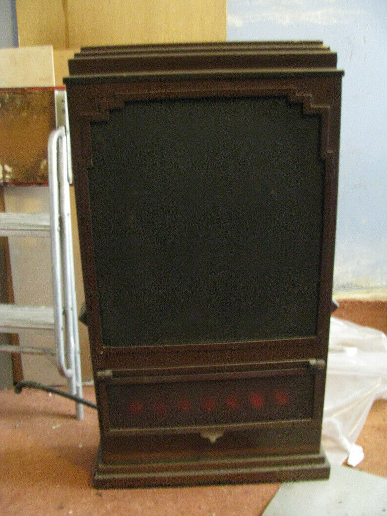 Art Deco Free Standing Gas Fire - For Restoration/Decoration