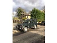 Land Rover Defender 110 TD5 2.5L 12 seater station wagon