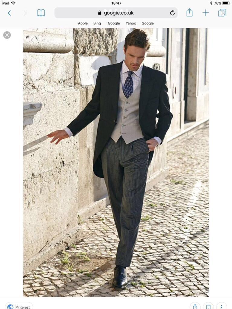 Men\'s ,Child\'s morning suits Grt for wedding ,races , goth weekend ...