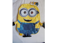 Despicable Me Minions 3D Backpack - Rucksack - School Bag NEW SEALED TAGS