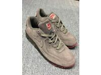 Air Max HyperFuse Suede Grey Black and Red - UK 10