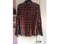 New look Checked shirt size 18