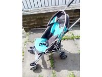 Century Twin Pushchair