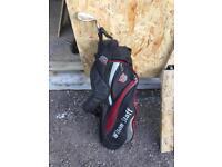 Wilson staff pencil Golf bag and titliest vokey wedge