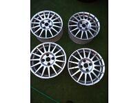 Ford Fiesta 15 Inch Alloy Wheels in West London Area
