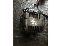 05 AUDI A6 3.0 DIESEL QUATTRO ALTERNATOR WORKING AND TESTED