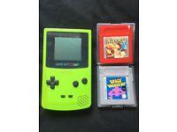 Gameboy + Rare games + n64 transfers pak