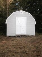 Large shed, great outdoor storage or man cave! 18 x 12 x 9