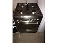 DALONGHI Stainless Steel 60cm Wide Gas Cooker (Fully Working & 4 Month Warranty)