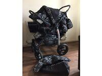 Pram, Car seat & Sleeping bag