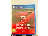 Driveclub special edition PS4 game brand new
