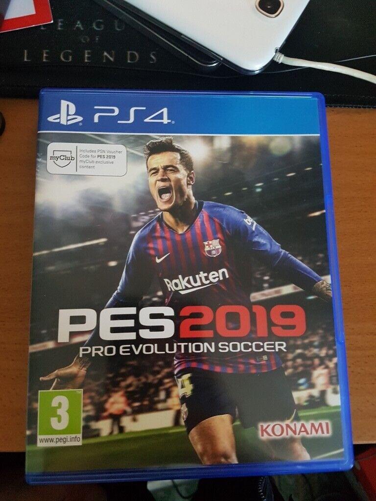 ps4 PES 2019 Pro Evolution Soccer better football game than fifa19 | in  Beckton, London | Gumtree