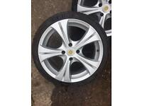 "Peugeot Citroen Alloy wheels Dare 17 "" 206 GTI Ford? 4x108"