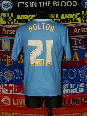 5/5 Coventry City adults M 2010 #21 Holton football shirt jersey trikot soccer image