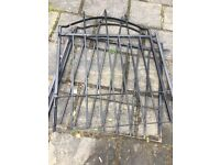 Arched Metal Gates