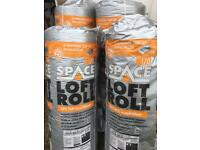 Knauf 170mm Loft Roll insulation X4! LOWER PRICE