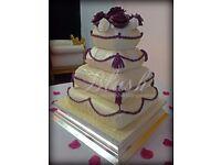 Bespoke Wedding Cakes by Blush Wedding Services