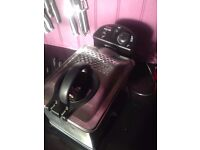 Tefal Easy Pro Deep Fat Fryer FR333040 hardly used as barred from use in Uni. Less than Half price