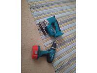 makita drill and jigsaw