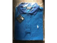 Ralph Lauren polo tops and shorts