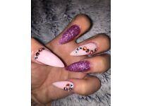 Acrylics nails