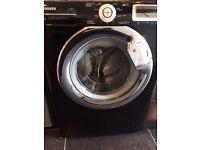 Black Hoover Washing Machine, Massive 10KG DRUM !!!!!!!