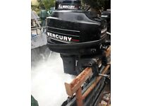 mercury 8hp outboard engine blackmax edition
