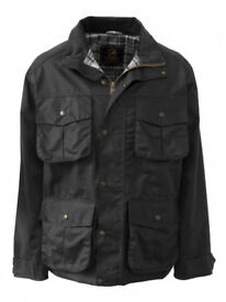 Mens Waxed Jacket (Size Small) - only worn once