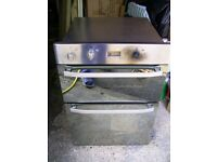 Hotpoint DHS53CX Double Electric Oven (integrated) FOR SPARES OR REPAIR