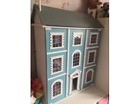Luxurious doll house including modern furniture