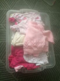 Baby 0-3 girls bundle