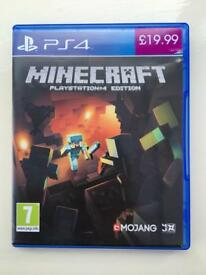 Minecraft PS4 game