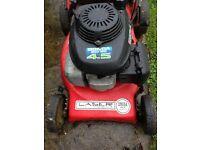 honda 4,5hp petrol power drive lawnmower