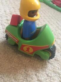 Playmobile 123 motorbike