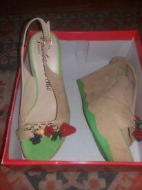 Gorgeous Fiorucci Sandals